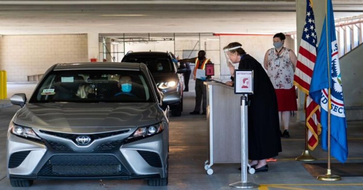 4 50.jpg?resize=1200,630 - Amidst the Pandemic, Several People Became American Citizens Through Drive-thru Naturalization Ceremonies