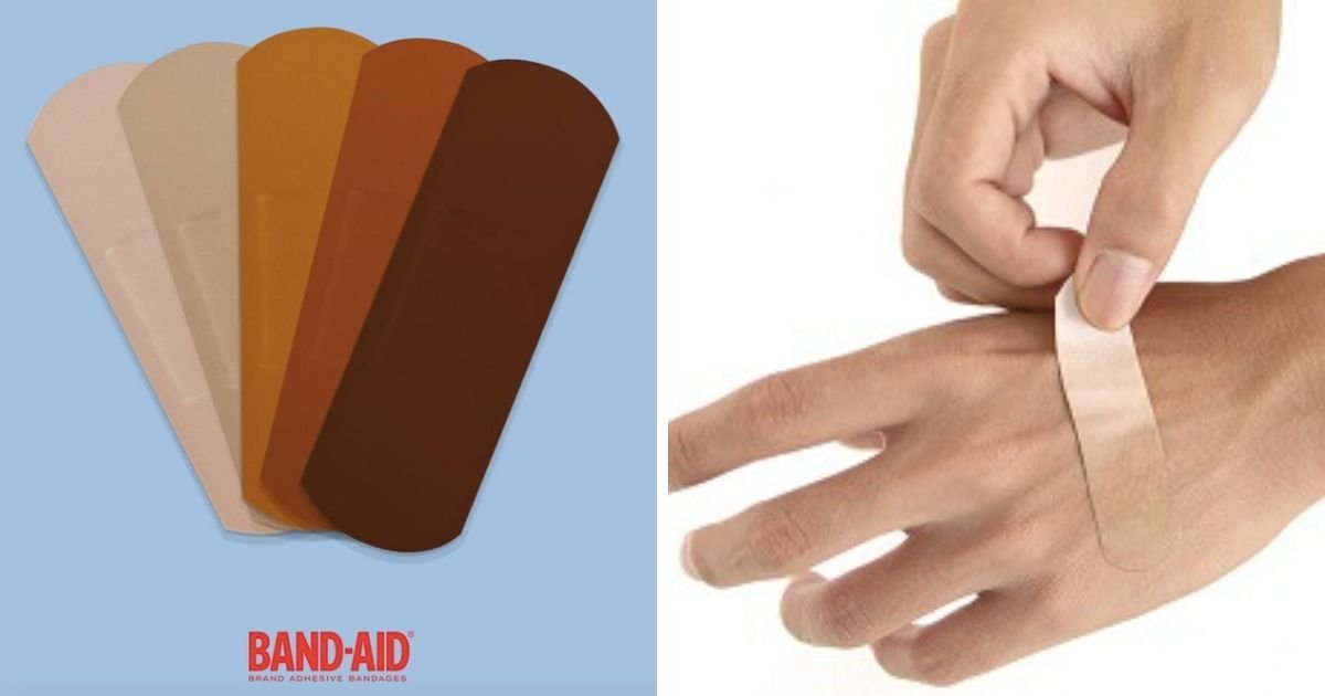 6 30.jpg?resize=412,275 - Band-Aid Will Make Brown & Black Toned Bandages That Embrace The Beauty of Diverse Skin