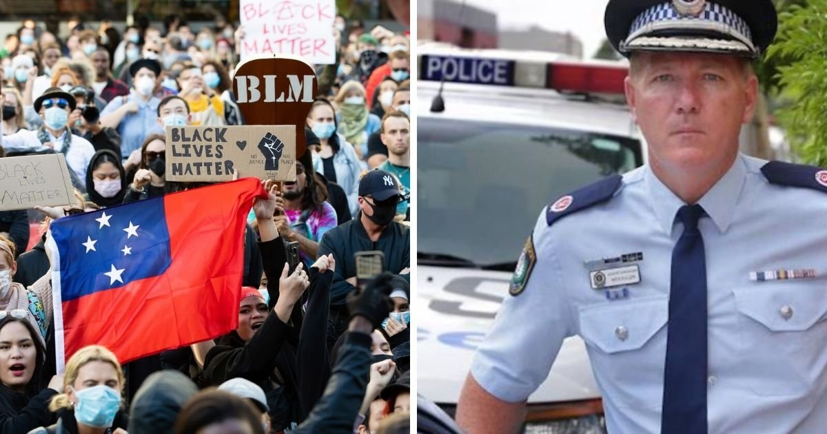 6 31.jpg?resize=1200,630 - Sydney Police Warns They Will Arrest and Fine Black Lives Matter Protesters