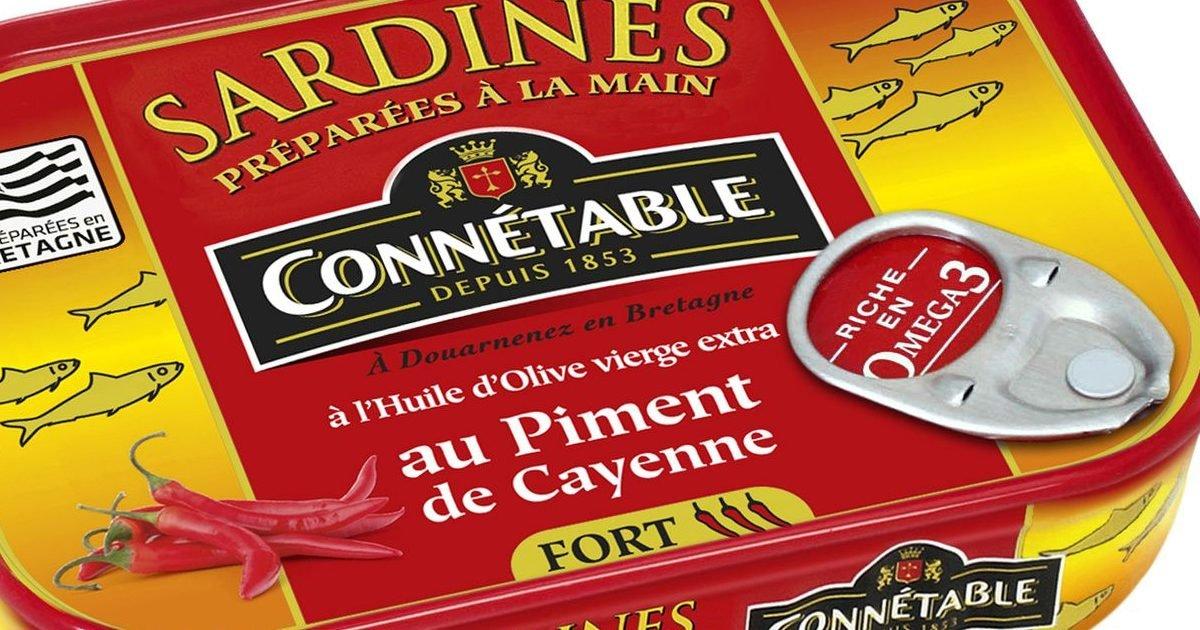 696eeb3f41d1a428e07b5136983c4126 e1593113801989.jpg?resize=412,232 - Consommation : Des boîtes de sardines pouvant contenir des morceaux de verre rappelées