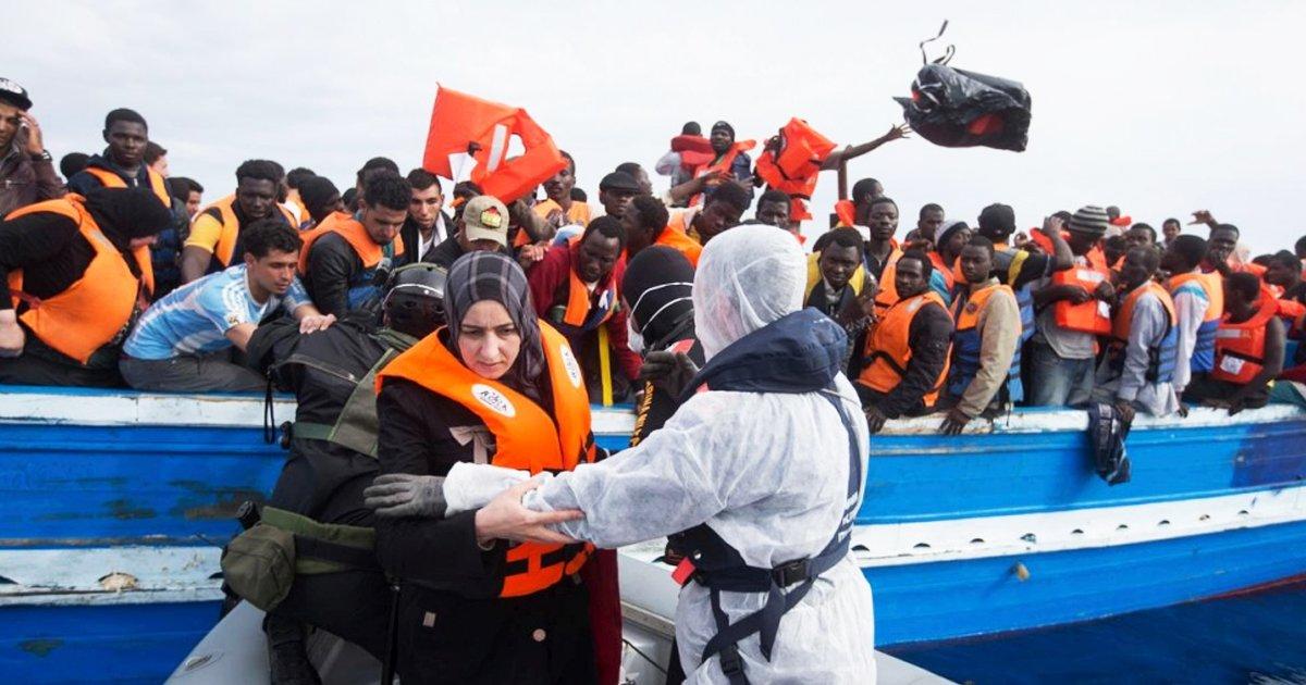 adgasdg.jpg?resize=412,232 - 28 Migrants Rescued at Mediterranean Sea Test Positive for Coronavirus