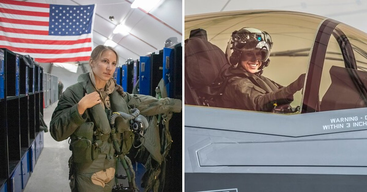 asdlfdasf.jpg?resize=1200,630 - This US Air Force Pilot Became The First Woman To Fly F-35A In Combat