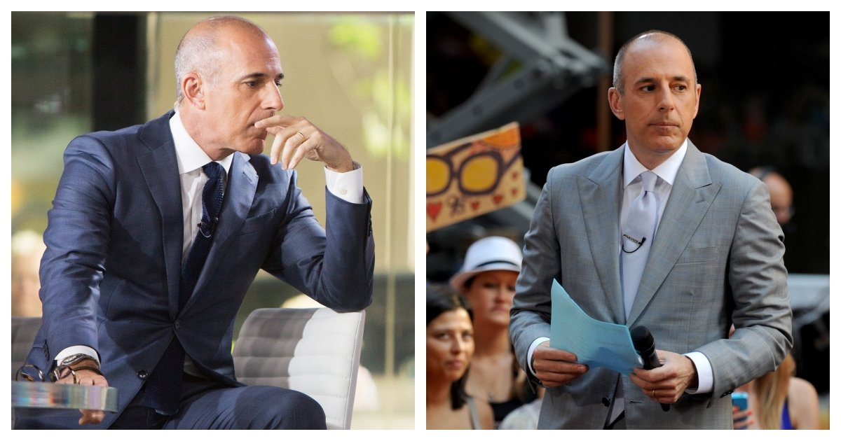 collage 14.jpg?resize=412,275 - Matt Lauer Reportedly Staging TV Interview In an Attempt to Get Back on Air