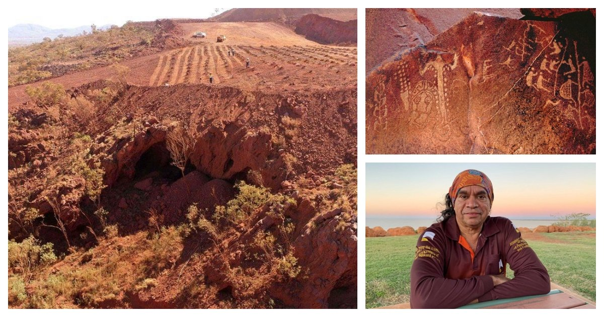 collage 4.jpg?resize=412,275 - Mining Company Apologizes For Blowing Up Important Aborigine Cave in Australia