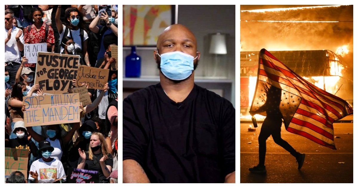 collage 5.jpg?resize=412,275 - George Floyd's Younger Brother Calls For the End of Violence