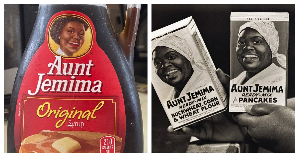 collage 52.jpg?resize=1200,630 - Quaker Oats Retires Aunt Jemima Brand Because of Its Racist Roots
