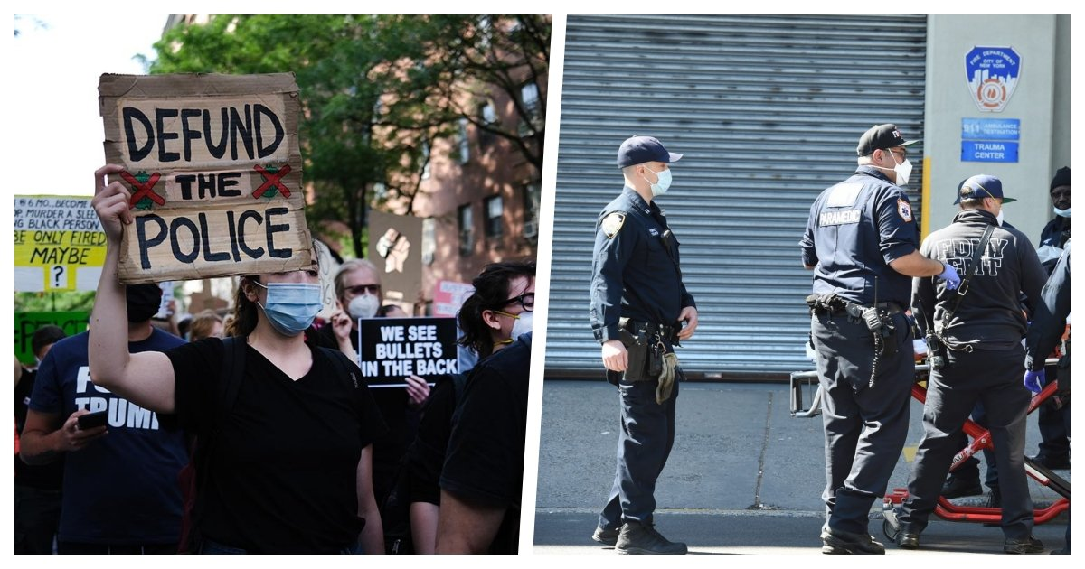 collage 57.jpg?resize=1200,630 - NYPD Officers May Go On Strike On July 4th As A Retribution For Anti-Police Movements