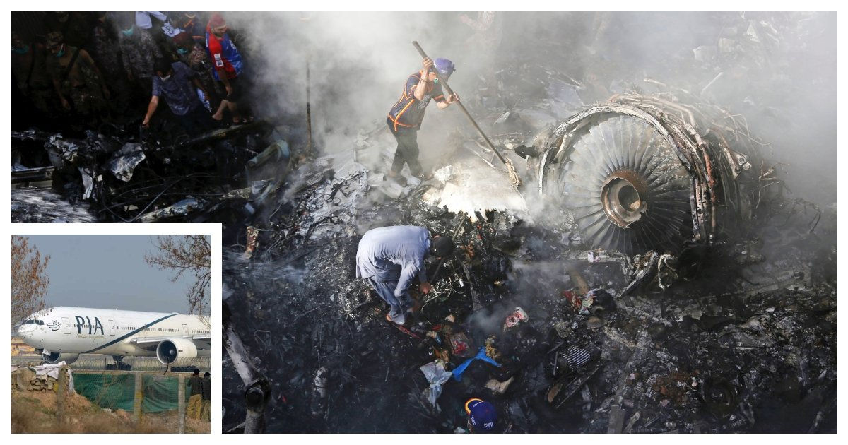 collage 78.jpg?resize=1200,630 - Report Claims Pakistani Air Crash Was Caused By Pilots Who Were Chatting About Covid-19