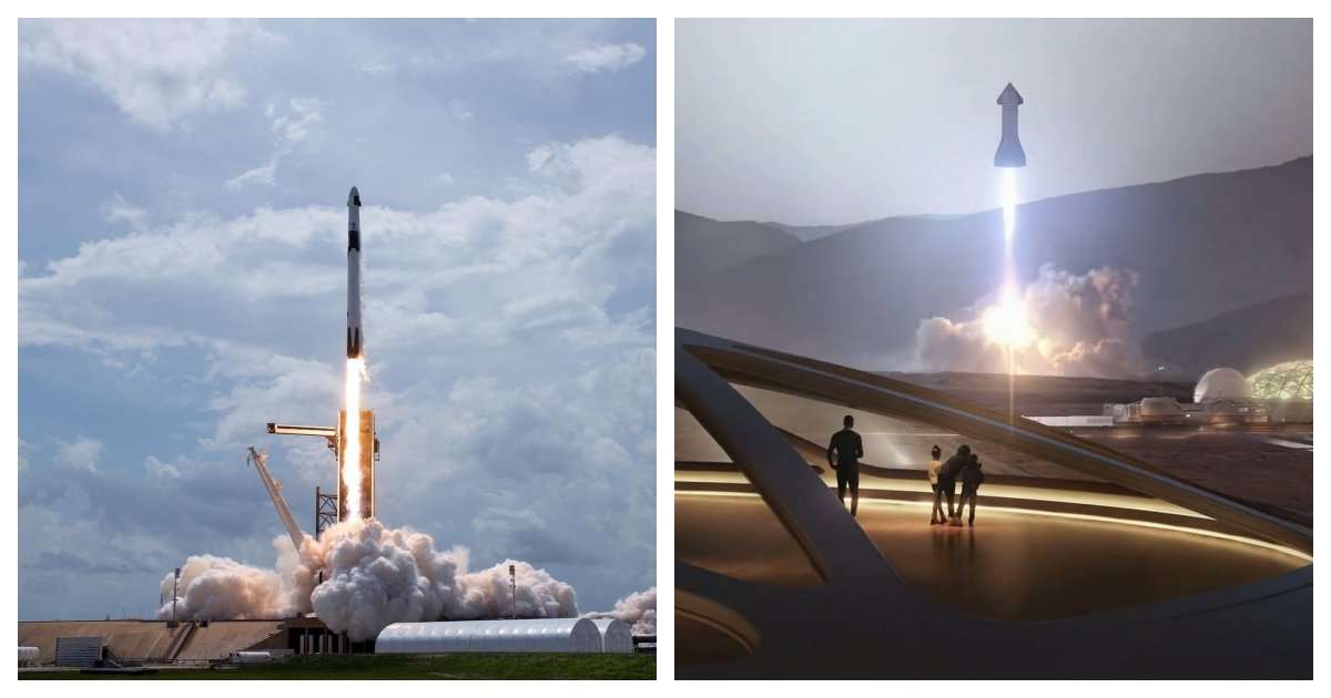 collage 8.jpg?resize=412,275 - The Future of Space Exploration After the Successful Launch of Crew Dragon