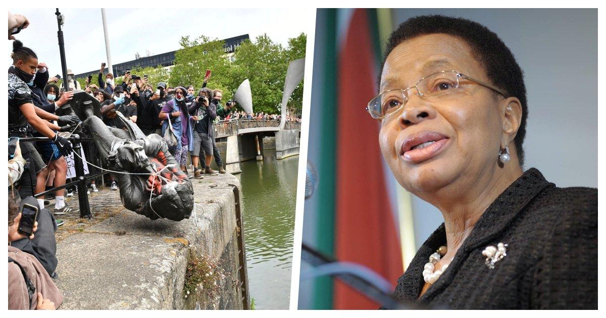 collage 82.jpg?resize=1200,630 - Nelson Mandela's Widow Discourages Protestors From Pulling Down Statues