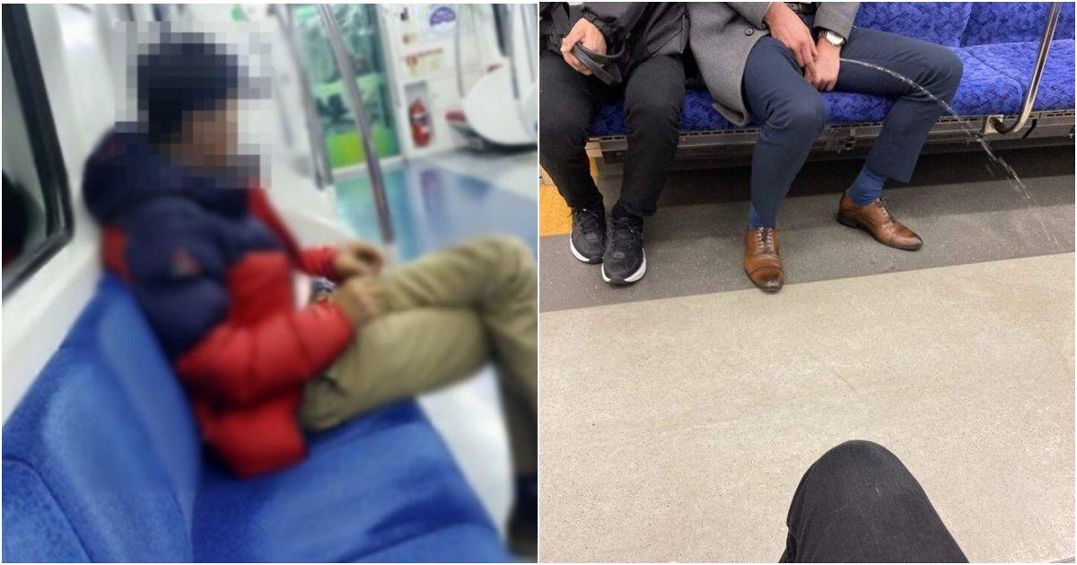 """collage 9.png?resize=412,232 - """"지하철에서 이 남성을 보면 무조건 도망가야해요.."""" 보란듯이 소중이 꺼내고 부르며 쫓아오는 '남성'"""