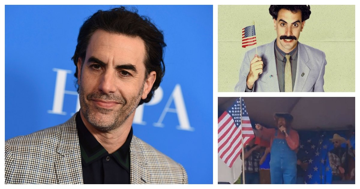 collage 91.jpg?resize=412,232 - Sacha Baron Cohen Likely Behind A $50,000 Prank On Far-Right Activists in Washington State
