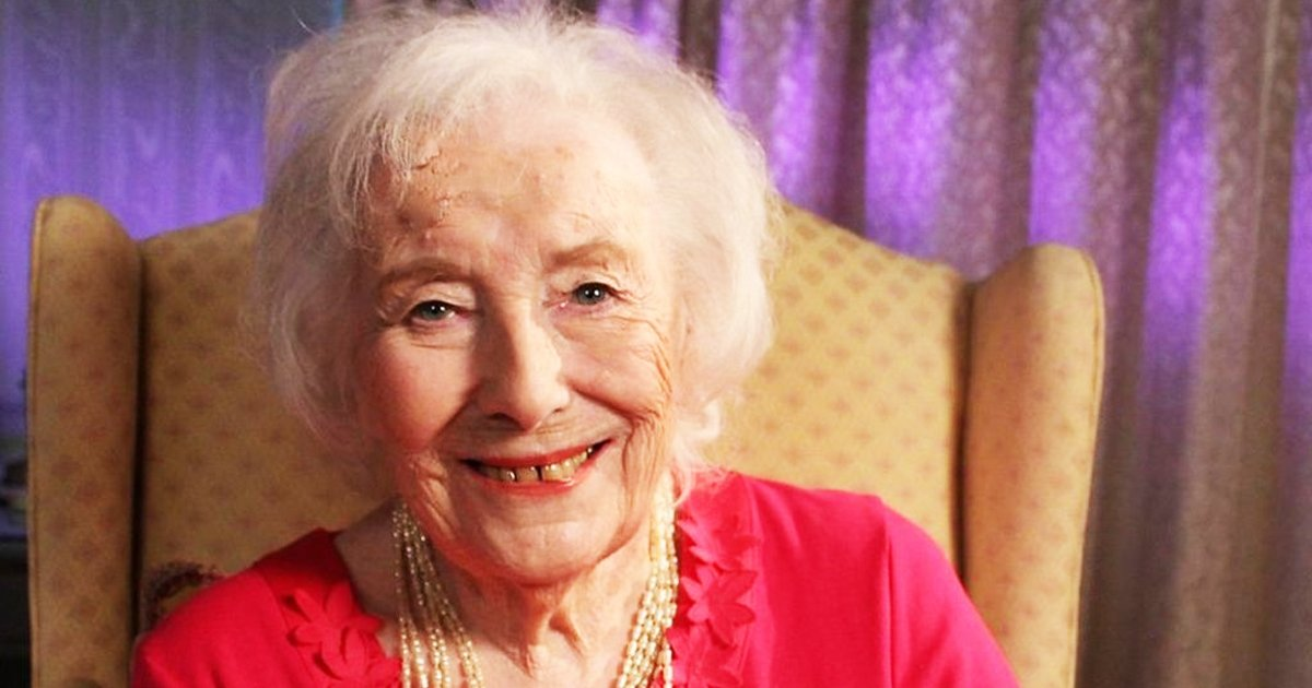 dame vera.jpg?resize=1200,630 - Britain's Wartime Sweetheart, Dame Vera Lynn, Died Today Aged 103