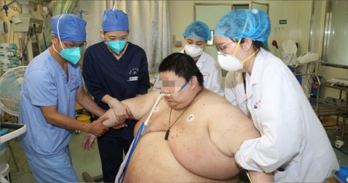 diseno sin titulo 3 7.jpg?resize=1200,630 - Hombre Engordó 115 Kilos Durante La Cuarentena Y Los Médicos No Querían Atenderlo