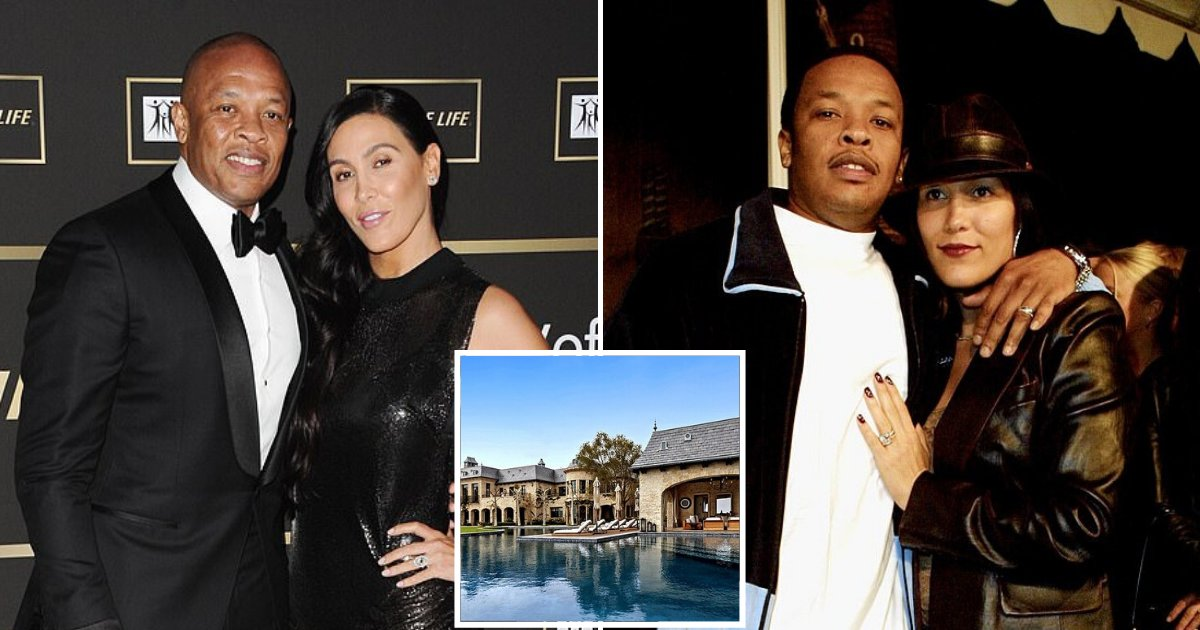 dre7.png?resize=1200,630 - Dr. Dre's Wife Nicole Young Files For Divorce After Almost 25 Years Of Marriage