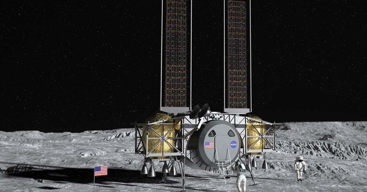 dynetics human lander web e1591050190556.jpg?resize=1200,630 - Etats-Unis : La NASA prépare des accords sur l'exploitation minière de la Lune