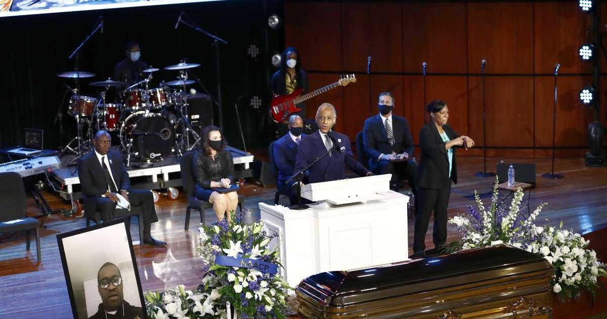 ec8db8eb84ac 2 3.jpg?resize=412,232 - Rev Al Sharpton Publicly Decries Donald Trump In George Floyd Funeral