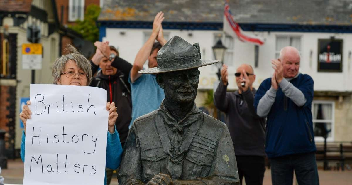 ec8db8eb84ac 2 8.jpg?resize=412,232 - Scout Founder's Statue Is The Next In Demolition Line As Cultural Purge Rages On In UK