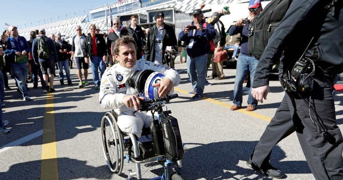 ec8db8eb84ac 4 21.jpg?resize=1200,630 - Alex Zanardi, Legendary Paralympian And F1 Driver, In Artificial Coma Due To Cycling Crash Incident