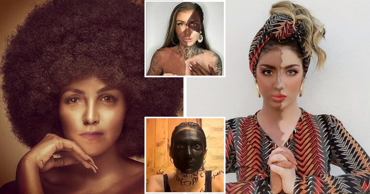 face7.png?resize=1200,630 - Influencers Face Criticism For Using Blackface Photos To Show Solidarity With BLM Movement