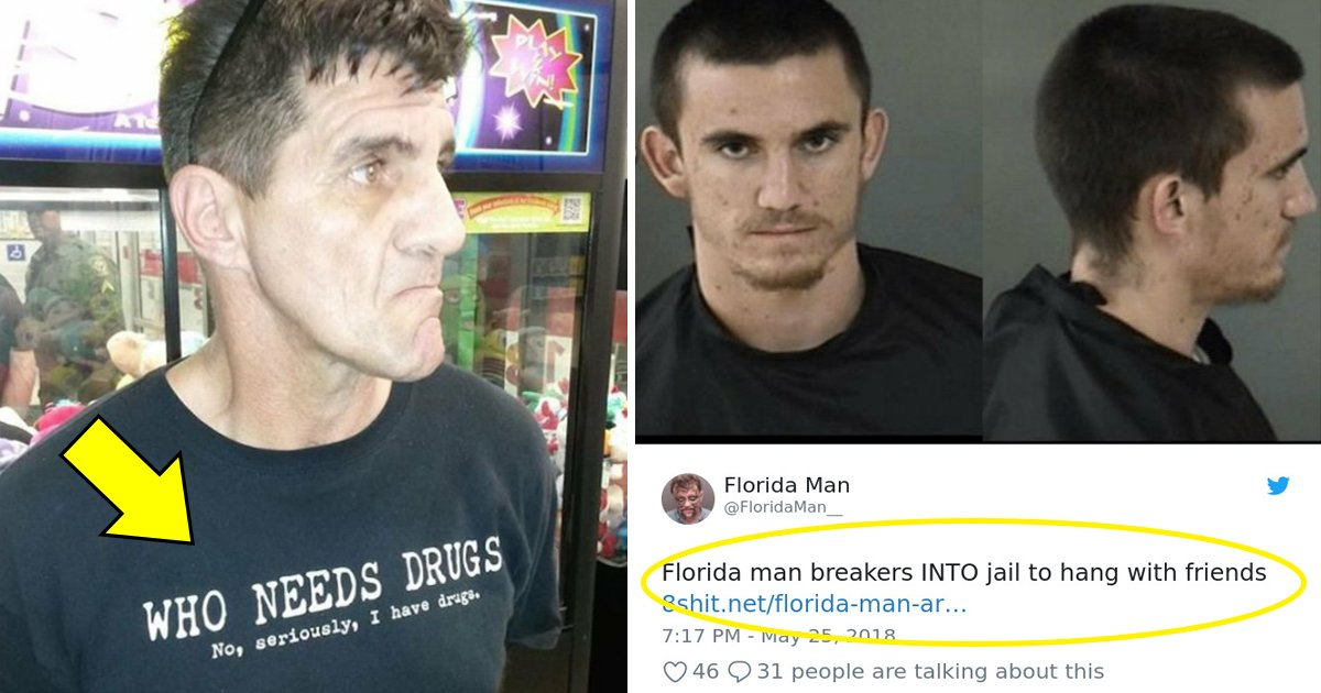 florida man.jpg?resize=412,232 - 15 Florida Man Headlines That Are Too Crazy To Be True