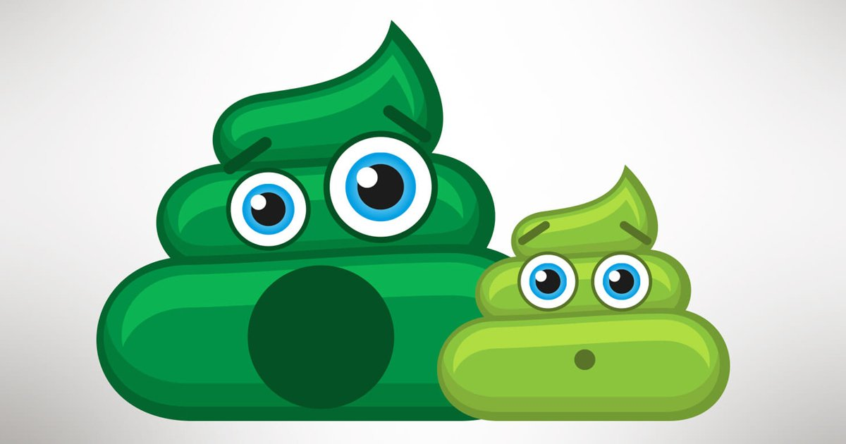 green poop.jpg?resize=1200,630 - Green Poop Exists And Here Are The 7 Most Common Causes Why