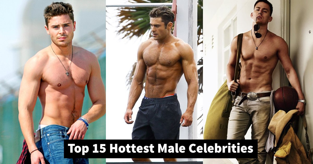 hot male celebrities.jpg?resize=1200,630 - Top 15 Hottest Male Celebrities Sure To Make Your Heart Skip A Beat