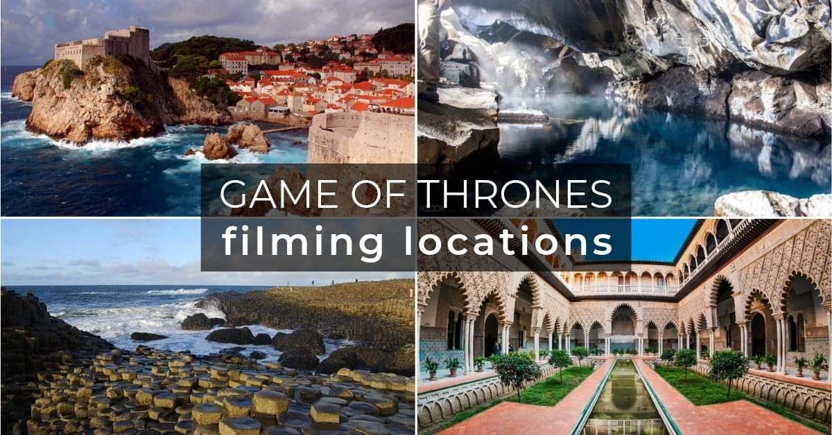 places in Game of Thrones