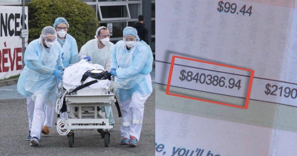 """kakaotalk 20200603 003620265.jpg?resize=412,232 - """"0이 몇개야...?""""...코로나 걸려 죽었다 살아난 미국인이  받은 '충격적인' 병원비 계산서"""