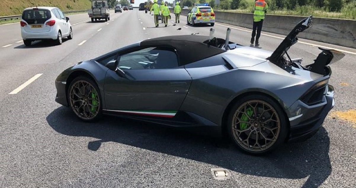 lbg.jpg?resize=1200,630 - Un homme s'achète une Lamborghini et la crash 20 minutes après être sorti du concessionnaire