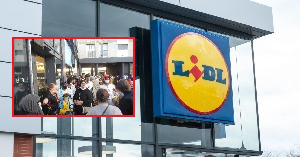 lidl.jpeg?resize=412,232 - L'ouverture du nouveau LIDL de Villeneuve-la-Garenne a attiré beaucoup de monde