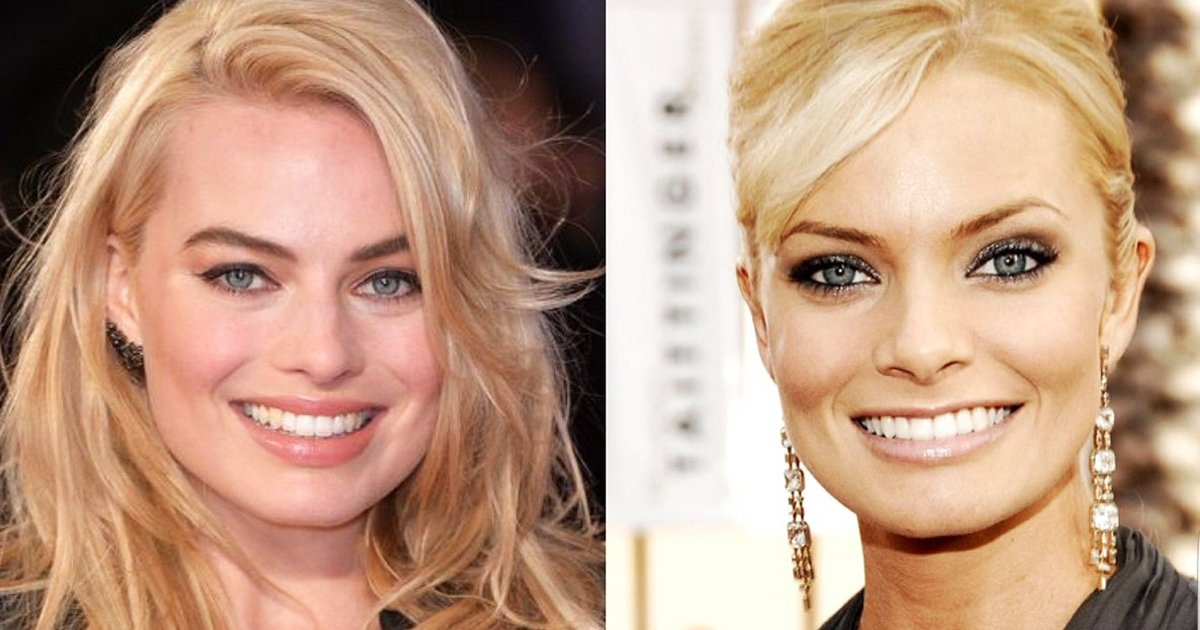 margot robbie and jaime pressly 1.jpg?resize=1200,630 - Margot Robbie and Jaime Pressly: Resemblance That Fans Can't Ignore