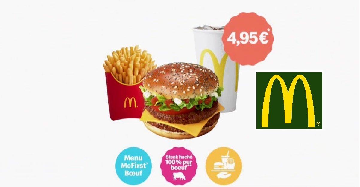 mc first.jpg?resize=412,232 - Petit Plaisir: McDonald's vient d'annoncer le retour du menu McFirst