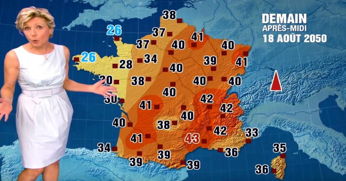 meteo.png?resize=300,169 - Avec le réchauffement climatique, à quoi ressemblera la météo en France en 2050 ?