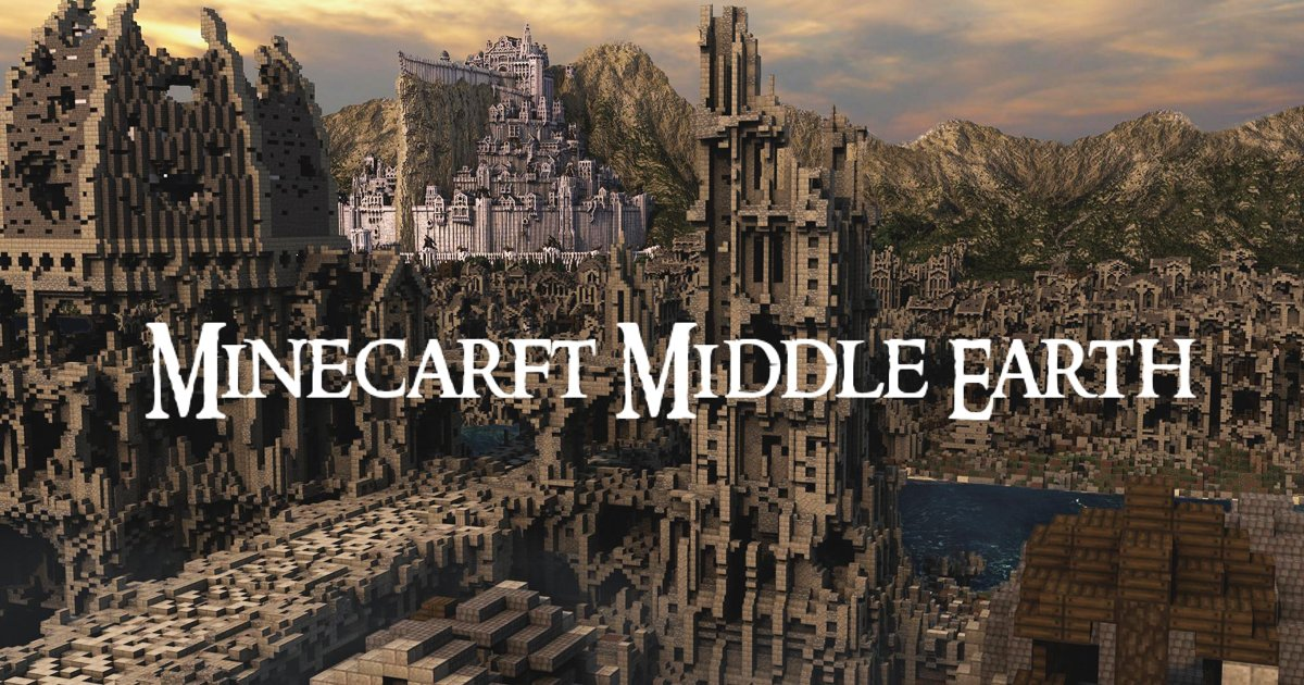 minecraft middle earth.jpg?resize=1200,630 - Experts Stun Audiences With Stellar Middle Earth Minecraft Creation