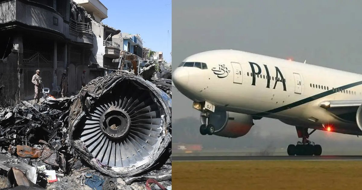 pia plane crash.jpg?resize=1200,630 - More Than 30% Of Civilian Pilots In Pakistan Have Fake Licenses And Not Qualified To Fly