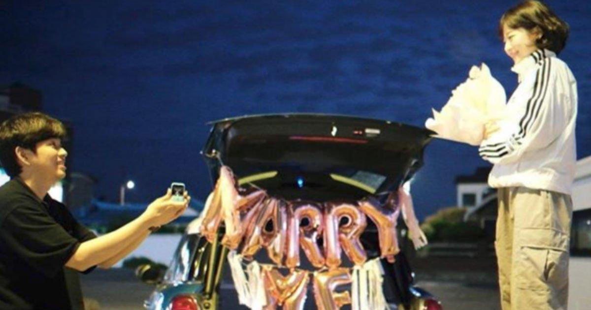 "skcouple.jpg?resize=412,275 - ""큰일이다""...8년 연애 종지부 찍고 드디어 '결혼'하는 유튜버 소근커플"