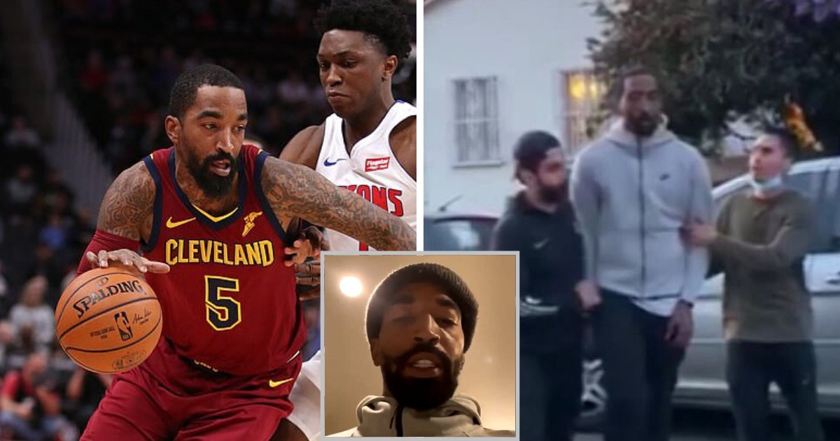 smith4.png?resize=412,232 - NBA Star J.R. Smith Was Filmed Kicking A Protester After He 'Smashed His Car' During George Floyd Protests In LA