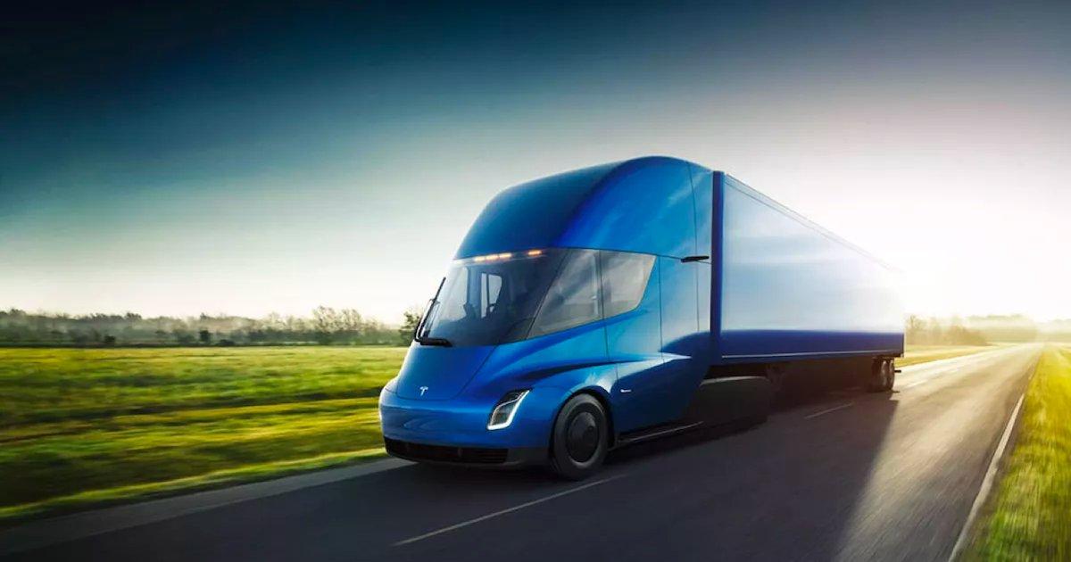 tesla semi.png?resize=1200,630 - Le camion électrique Semi de Tesla va entrer en phase de production