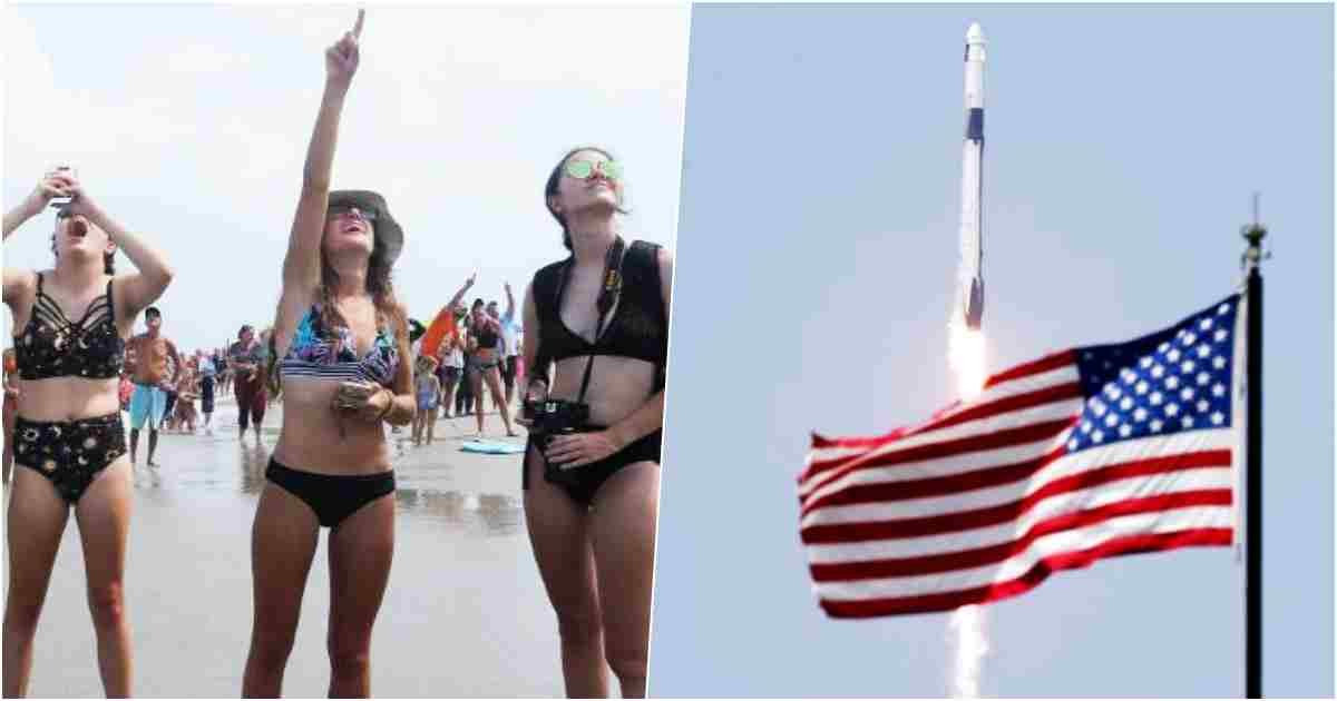thumbnail 5.jpg?resize=1200,630 - First In A Decade: SpaceX And NASA Launch Astronauts From US Soil