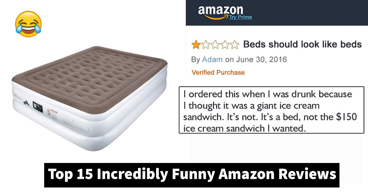 top 15 incredibly funny amazon reviews.jpg?resize=1200,630 - Top 15 Incredibly Funny Amazon Reviews That You Can't Miss