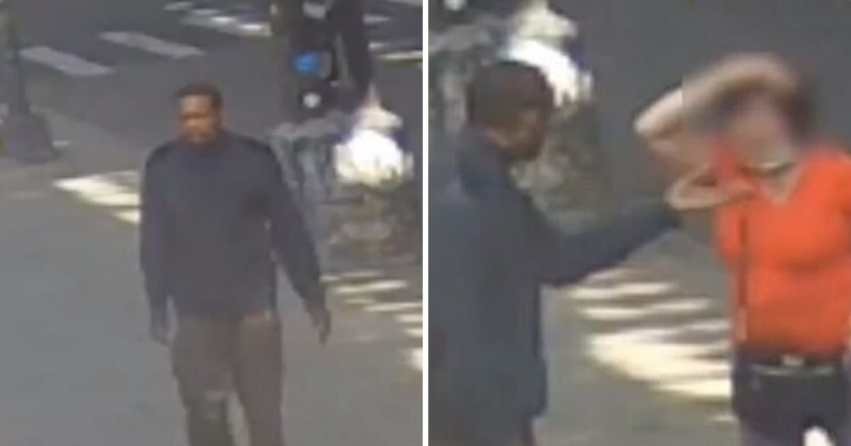 untitled design 3 11.jpg?resize=1200,630 - Police Are Searching For Brooklyn Man Who Hit Elderly Woman In A Random Attack
