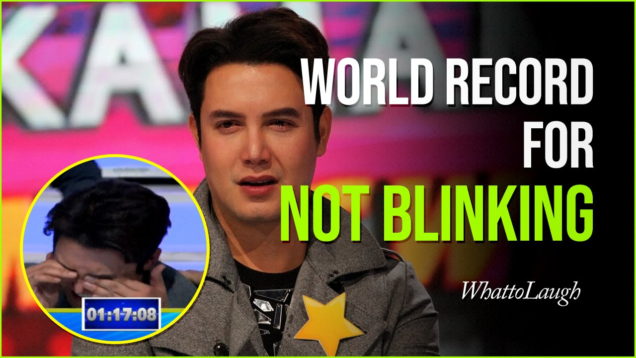 world record for not blinking.jpg?resize=1200,630 - Actor Sets Up World Record For Not Blinking At One Hour And 17 Minutes