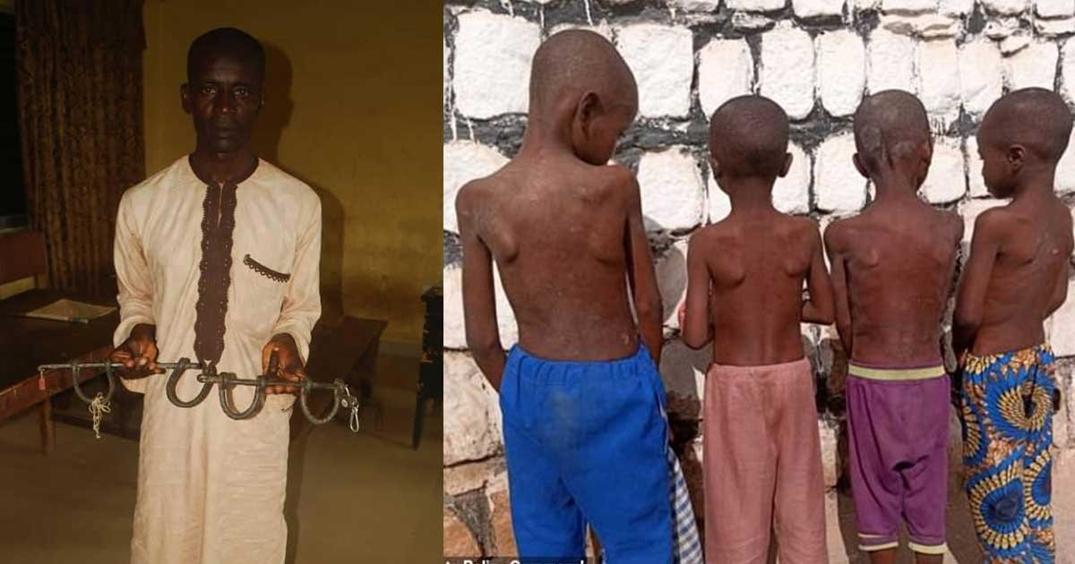 """1 122.jpg?resize=412,275 - 15 Children """"In Chains"""" Rescued From School In Central Nigeria"""
