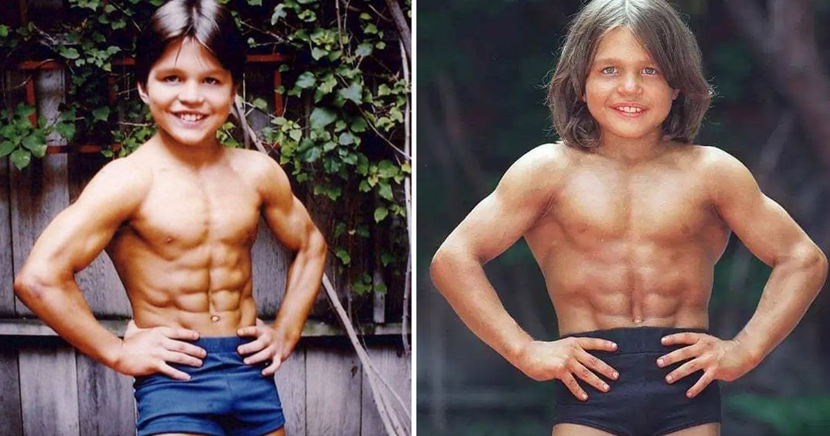 2 year old muscle boy.jpg?resize=1200,630 - This True Story Of 2-year Old Muscle Boy Will Shock You To The Core