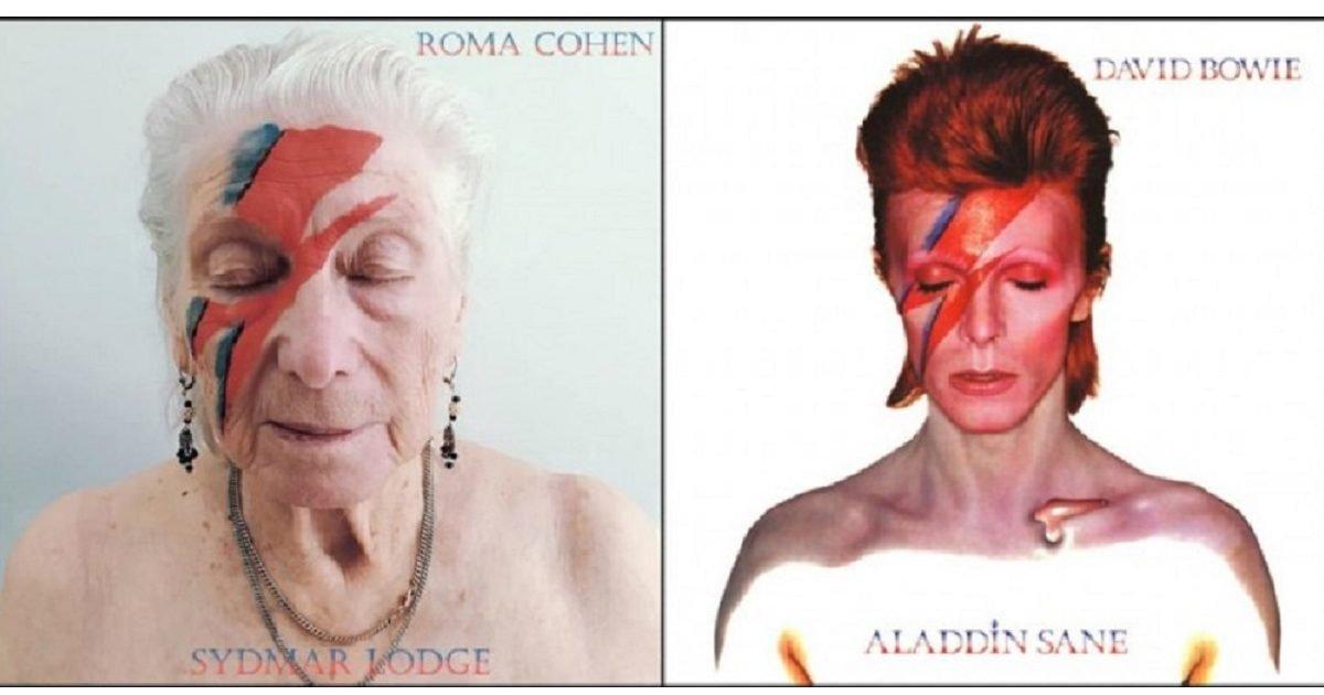 20200723 maison de retraite albums celebres 1 2 e1595504115565.jpg?resize=1200,630 - Maison de retraite : Les résidents reproduisent des couvertures d'albums célèbres