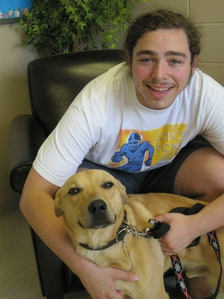 Post Malone without tattoos