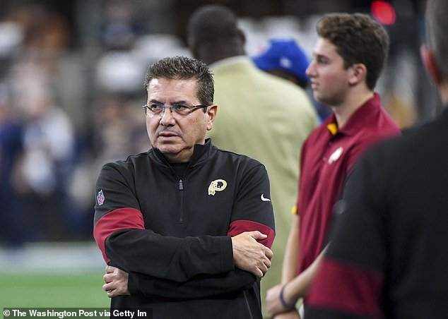 Redskins owner Dan Snyder has ignored pleas from Native American groups who believe the name and logo are racist, and as NFL commissioner Roger Goodell told ESPN Radio in 2018,