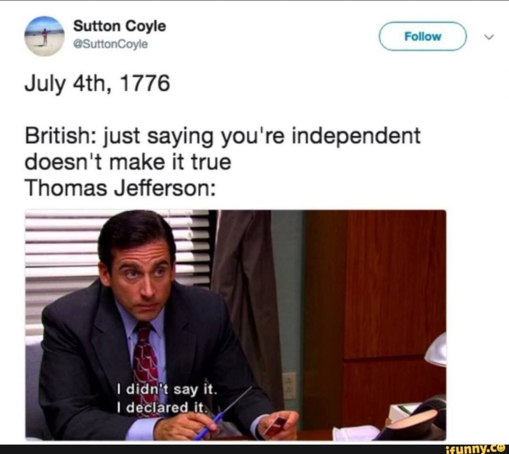 4th of july memes 2020