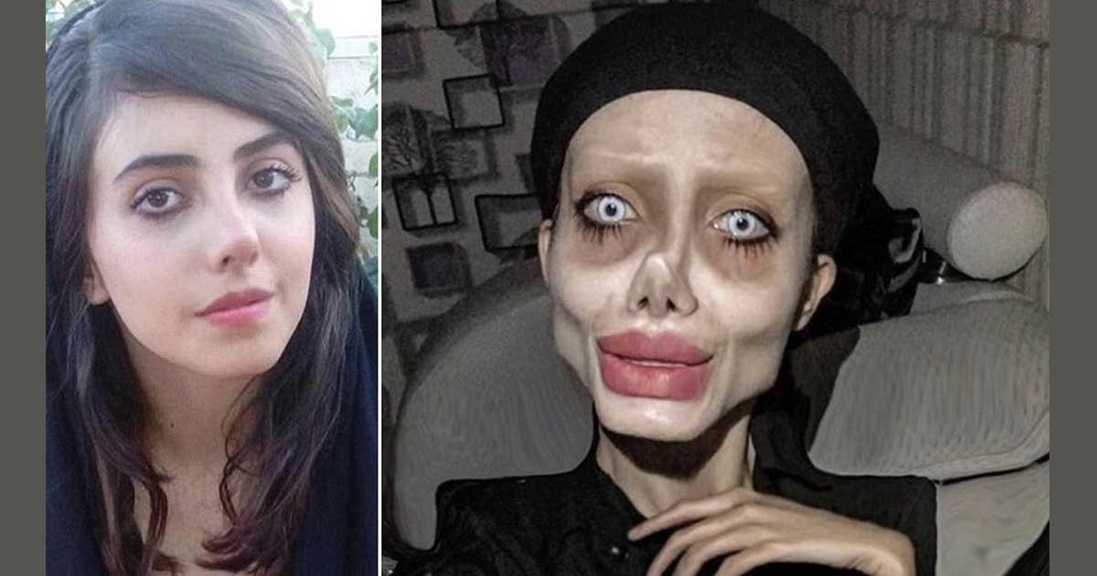 Angelina Jolie look alike